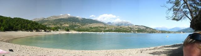 Lac de Serre-Ponson