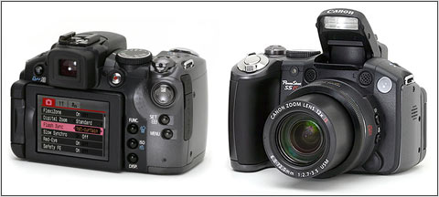 Canan PowerShot S5 (source dpreview.com)
